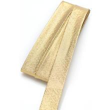 buttinette Schrägband, gold glitzernd, Breite: 2 cm, Länge: 5 m