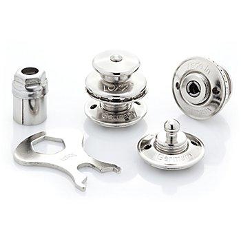 Loxx Taschenverschluss, silber, Inhalt: 2 Stück