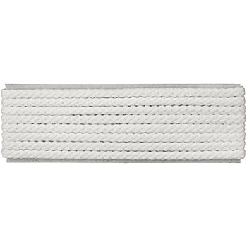 buttinette Cordon pour veste, blanc, 4 mm Ø, longueur : 4 m