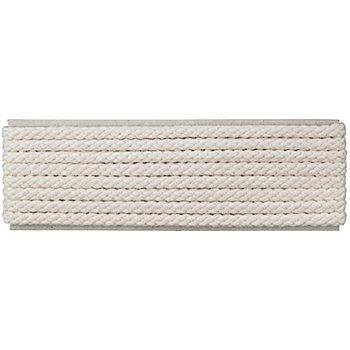 buttinette Cordon pour veste, écru, 4 mm Ø, longueur : 4 m