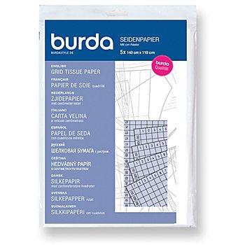 burda Seidenpapier mit Zentimeter-Raster