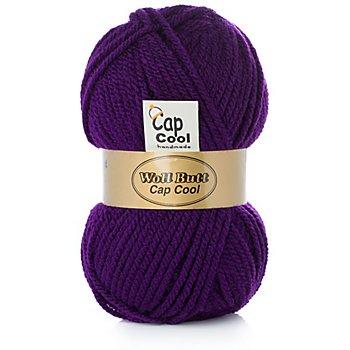 Woll Butt Cap Cool N° 1 - Acrylgarn, lila