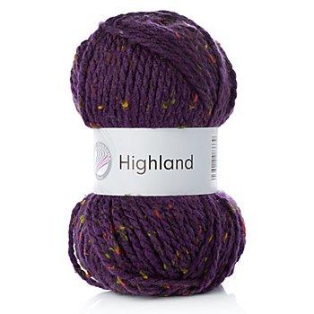 Four Seasons Highland - Acrylmischung, aubergine