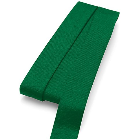 Image of buttinette Jersey-Einfassband, grün, Breite: 2 cm, Länge: 3 m