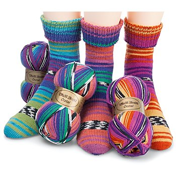 Set éco Woll Butt laine à chaussettes 'Ötztal', 300 g