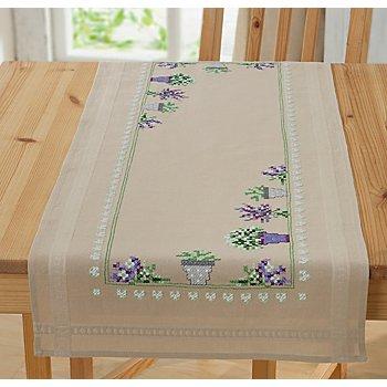 Stickläufer 'Lavendeltraum'