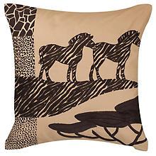 Stickkissen 'Zebras'