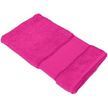 buttinette Serviette de toilette à broder en tissu éponge, mûre