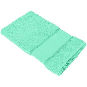 buttinette Serviette de toilette à broder en tissu éponge, bleu aqua