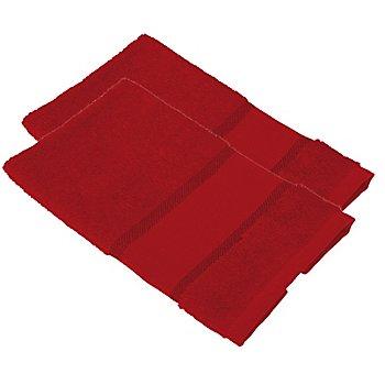 buttinette Gästetücher 2er-Pack, rot