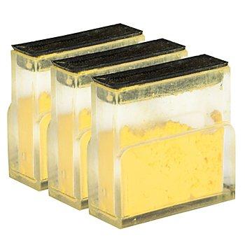 buttinette Ersatz-Kreidepatronen, gelb, 3 Stück