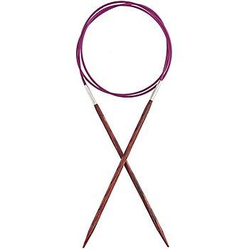 KnitPro Aiguilles circulaires 'Cubics', bois de bouleau, 100 cm