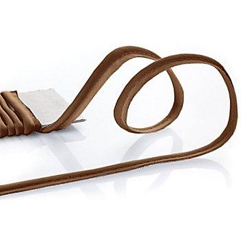 buttinette Baumwoll-Paspelband, dunkelbraun, 4 mm Ø, 5 m