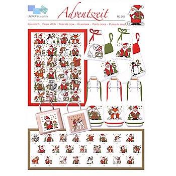 Stickvorlage 'Adventszeit'