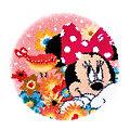 "Knüpfteppich ""Minnie Mouse"" Ø 53 cm"