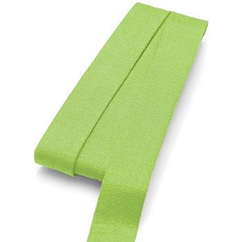 buttinette Jersey-Einfassband, hellgrün, Breite: 2 cm, Länge: 3 m