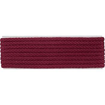 buttinette Cordon pour veste, bordeaux, 4 mm Ø, longueur : 4 m