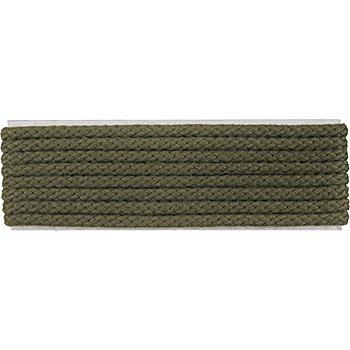 buttinette Cordon pour veste, vert olive, 4 mm Ø, longueur : 4 m