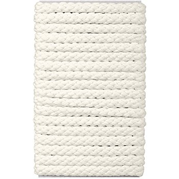 buttinette Cordon pour veste, écru, 8 mm Ø, longueur : 5 m