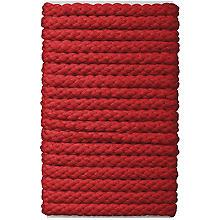 buttinette Cordon pour veste, rouge, 8 mm Ø, longueur : 5 m