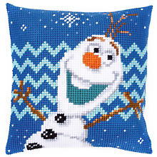 Kreuzstichkissen Disney 'Olaf'