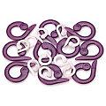 buttinette Maschenmarkierer im Größenmix, offen, 24 Stück