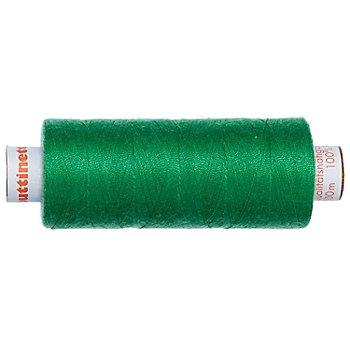 buttinette Universal-Nähgarn, Stärke: 100, 500m-Spule, grün