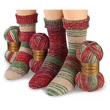Woll Butt Sockenwollpaket 'Weihnachtszauber'