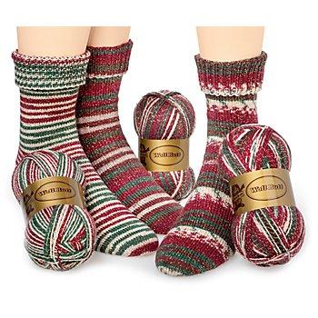 Woll Butt Sockenwollpaket 'Weihnachtswunder', 300 g