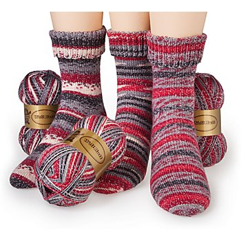 Set éco Woll Butt laine à chaussettes 'scintillement', 300 g