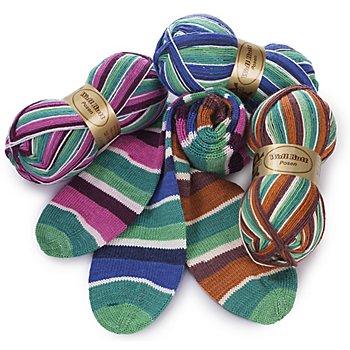 Set éco Woll Butt laine à chaussettes 'Posen', 300 g