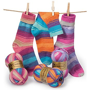 Woll Butt Sockenwollpaket 'Farbenpracht', 300 g