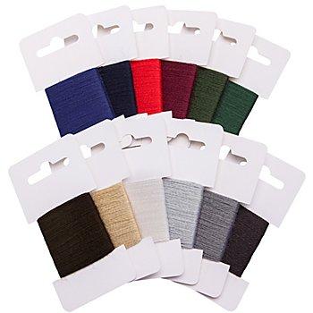 buttinette Pack éco de fil à repriser, 45 m par couleur, contenu : 540 m