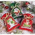 """Geschenk- und Kräutersäckchen """"Weihnachts-Trio"""", 3er-Set"""