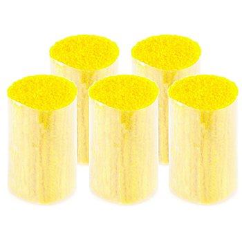 buttinette Acryl-Knüpfgarn, zitrone, 1.000 Fäden