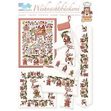 Stickvorlage 'Weihnachtsbäckerei'