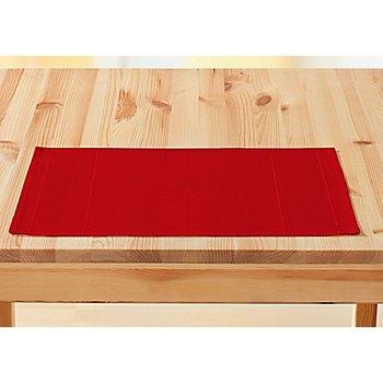 buttinette Set de table à broder, rouge