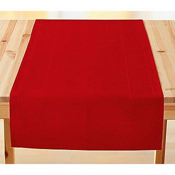 buttinette Chemin de table à broder, rouge