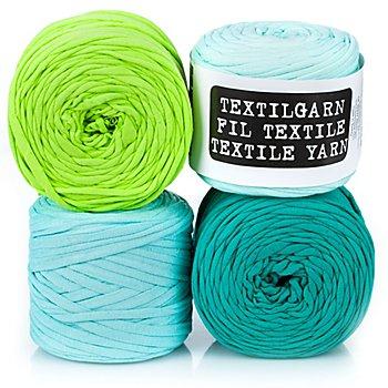 buttinette Textilgarn, Grüntöne, 1000 g