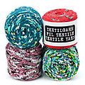 buttinette Textilgarn, multicolor, 1000 g