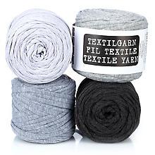 buttinette Textilgarn, Grautöne, 1000 g