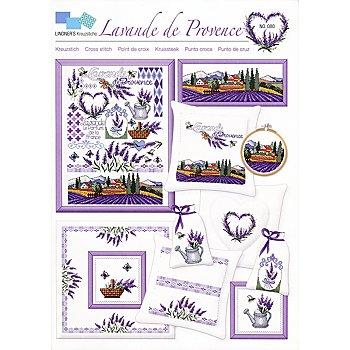Stickvorlage 'Lavande de Provence'