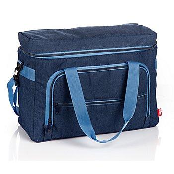 Prym Sac pour machine à coudre, bleu jeans, dim. : 44 x 20 x 35 cm