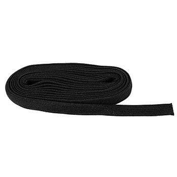 buttinette Flachkordel, schwarz, Breite: 2 cm, 5 m
