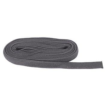 buttinette Cordon plat, gris foncé, largeur : 2 cm, 5 m