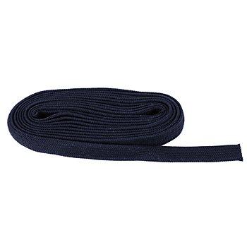 buttinette Flachkordel, dunkelblau, Breite: 2 cm, 5 m