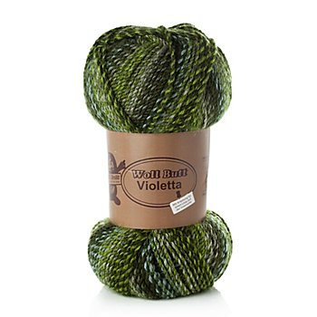 Woll Butt Laine Violetta, tons verts