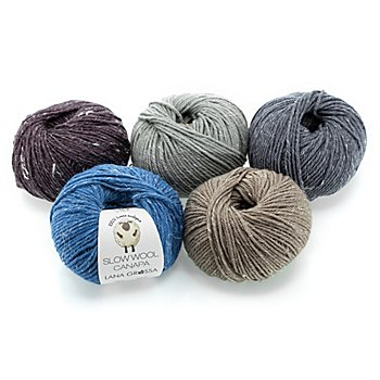 Lana Grossa Wolle Slow Wool Canapa