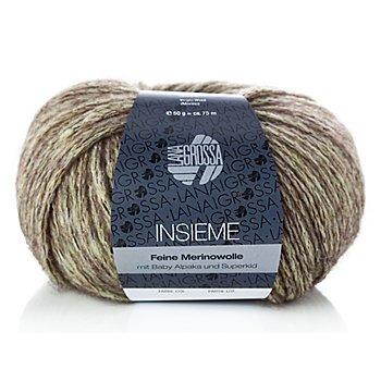 Lana Grossa Insieme - Modegarn, blassgelb color