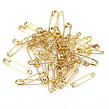 Kleiber Sicherheitsnadeln, gold, 48 Stück